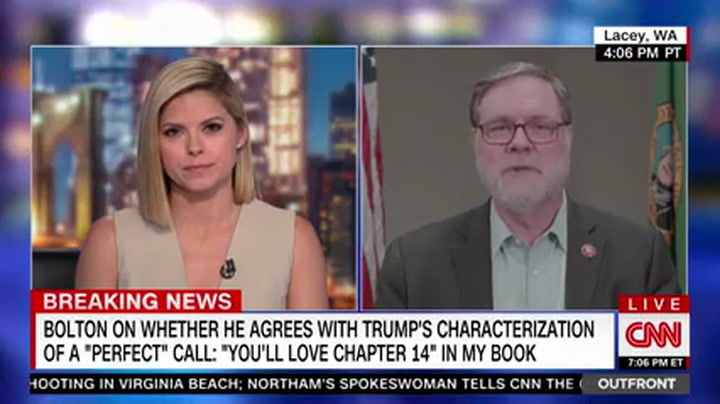 Dem Rep Heck: Bolton Only Cares About Selling His Book, 'Period, Full Stop'