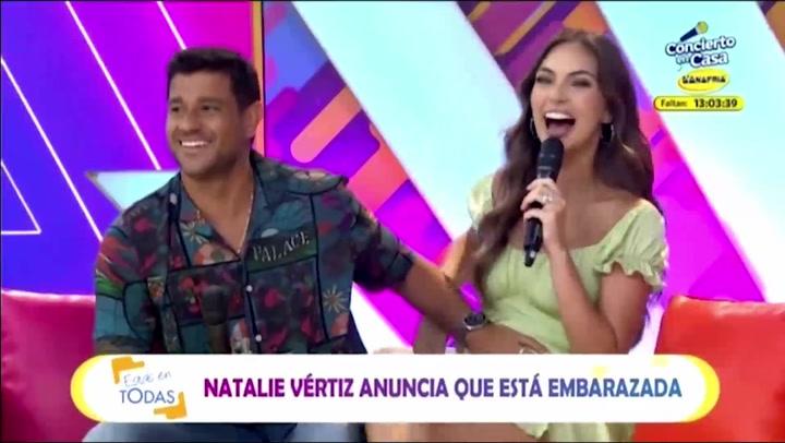 Natalie Vértiz y Yaco Eskenazi anuncian estar esperando a su segundo hijo