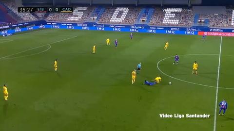 Eibar 0-2 Cádiz (Liga española)