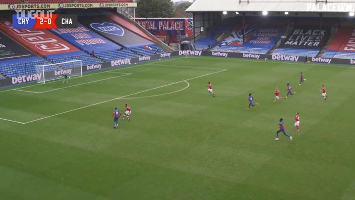 Wilfried Zaha's solo goal in Charlton friendly win