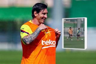 Messi Al 100% El Golazo Que Hizo En El Entrenamiento Del Barcelona