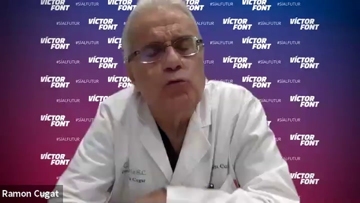 El doctor Ramon Cugat habla sobre la lesión de Gerard Piqué