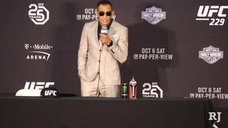 UFC 229: Tony Ferguson post-fight news conference