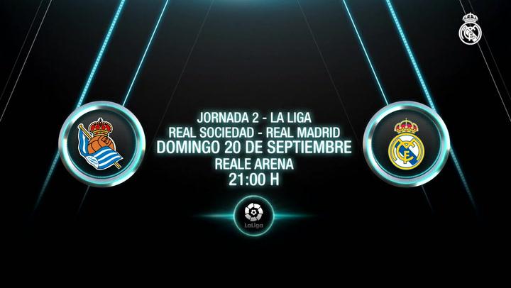 Arranca el campeón de LaLiga: Real Sociedad-Real Madrid