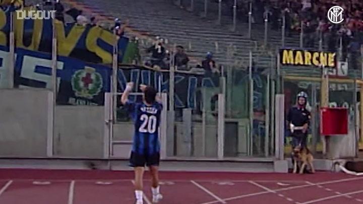 Inter's top five goals away at Roma