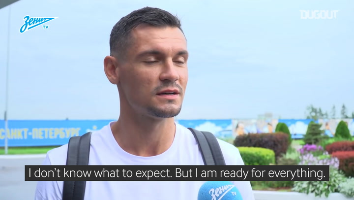 Dejan Lovren's first interview as a Zenit player