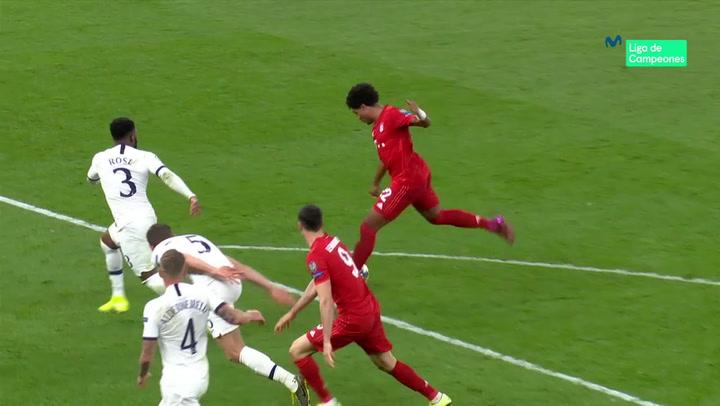 Champions League: Tottenham-Bayern. Gnabry marca cuatro goles en Londres