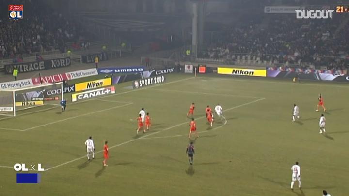 Ederson's best five goals with Olympique Lyonnais