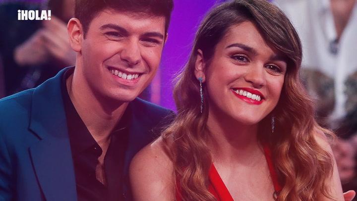 En ¡HOLA!: Entrevista con Amaia y Alfred, los novios de España