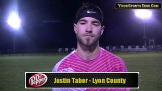 Tabor on Lyon Defense Standing Tall