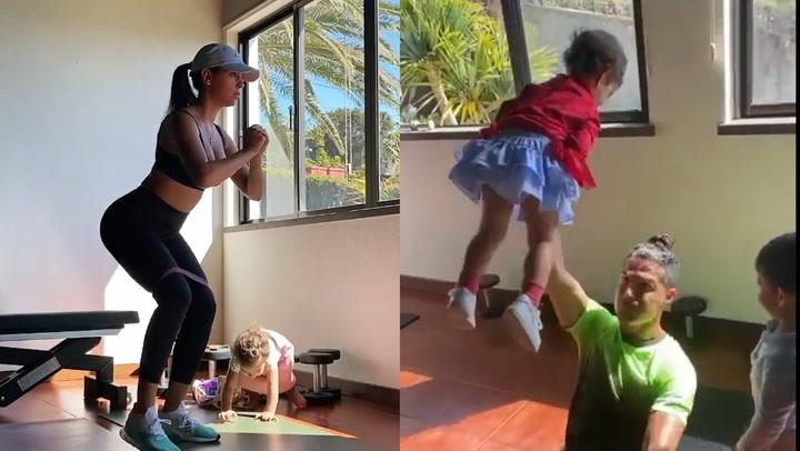Georgina Rodríguez, de la excursión con sus hijos al entrenamiento con Cristiano Ronaldo