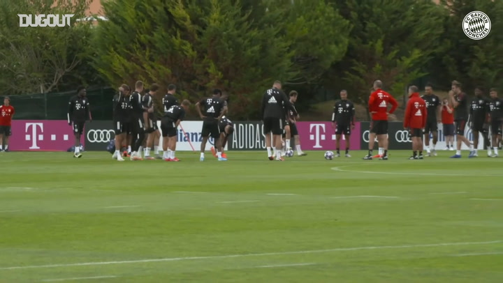 FC Bayern stars prepare for Champions League showdown vs FC Barcelona
