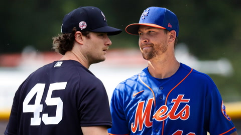 What are the Cy Young odds for Jacob deGrom and Gerrit Cole?