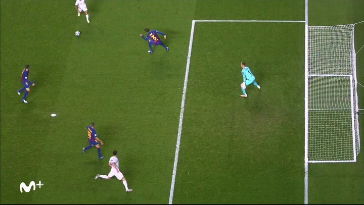 Champions League FC Barcelona-Bayern. Gol de Coutinho (2-7)