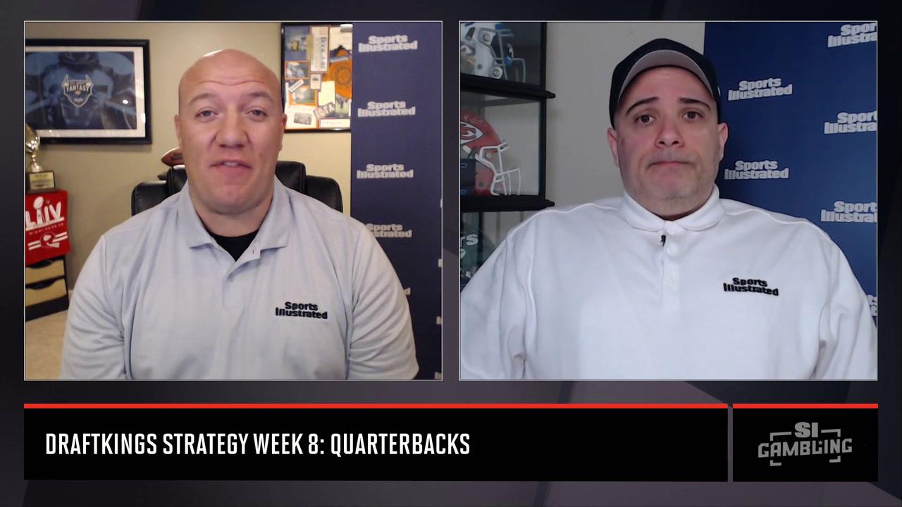 DraftKings NFL DFS Strategy QB Week 8