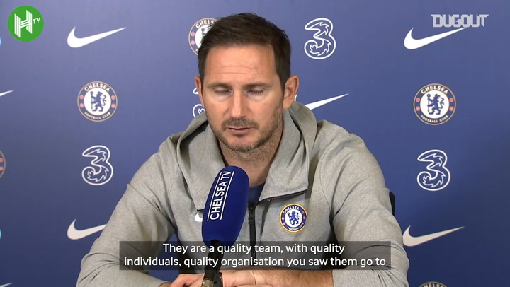 Lampard discusses grinding out points and quality Manchester United