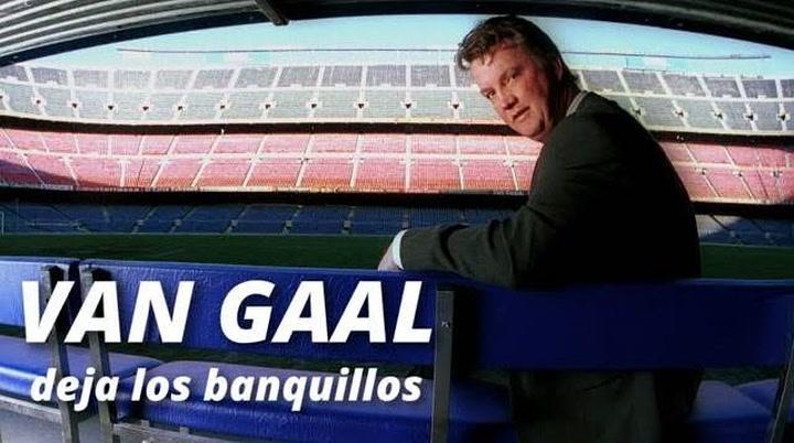 Van Gaal se retira de los banquillos