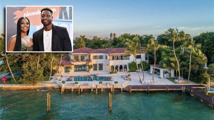 Dwyane Wade's $32.5M Miami Beach Mansion Has Style to Spare