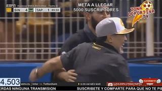 Maradona y los Dorados de Sinaloa debutan con goleada
