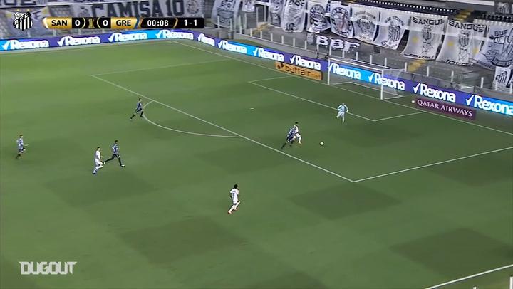 Kaio Jorge se torna o brasileiro a marcar o gol mais rápido na Libertadores