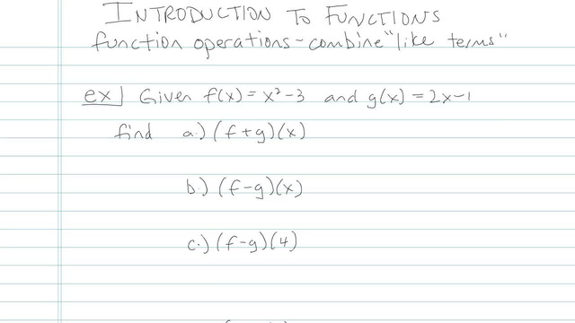 Introduction to Functions - Problem 5