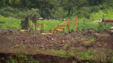 Brumadinho, un año de duelo por el desastre minero del sudeste de Brasil