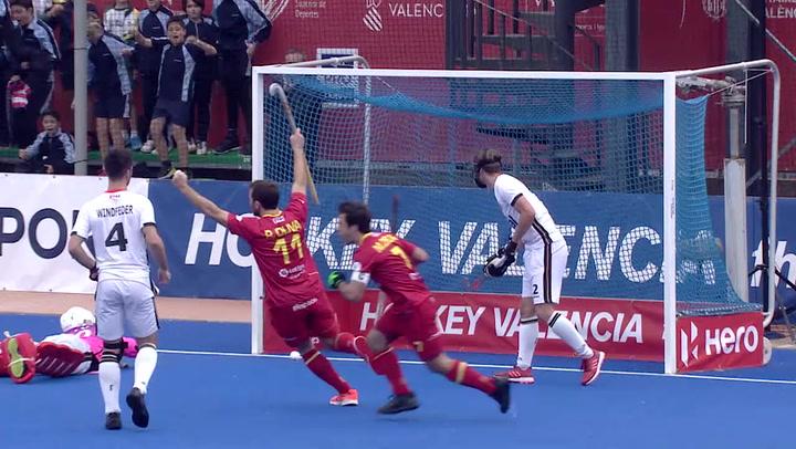 Hockey Hierba: Resumen del España-Alemania