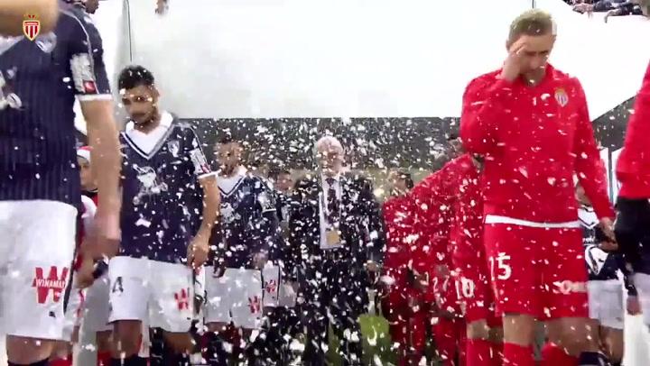 AS Monaco's four goals sink Girondins de Bordeaux