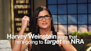 Watch: Dana, 'Weinstein targets the NRA but we don't put up with that stuff'