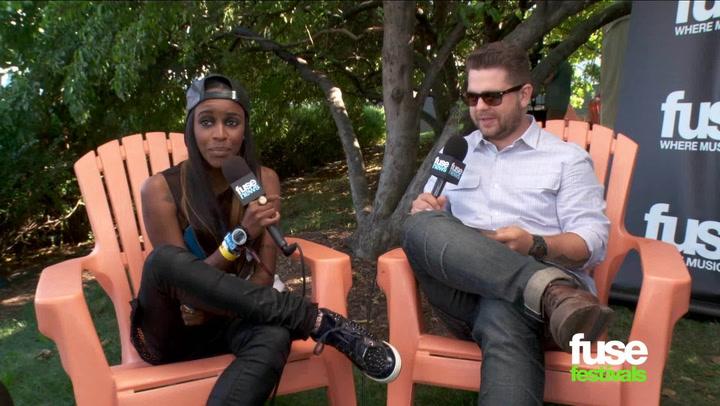 Festivals: Lollapalooza 2013: Angel Haze Interview