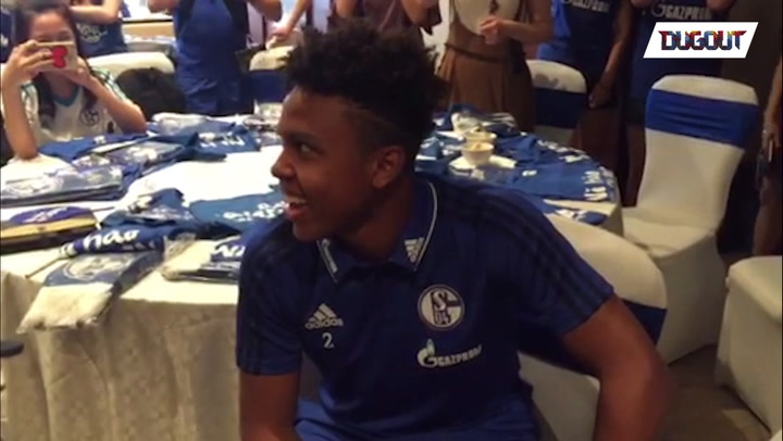 Mckennie Raps in China