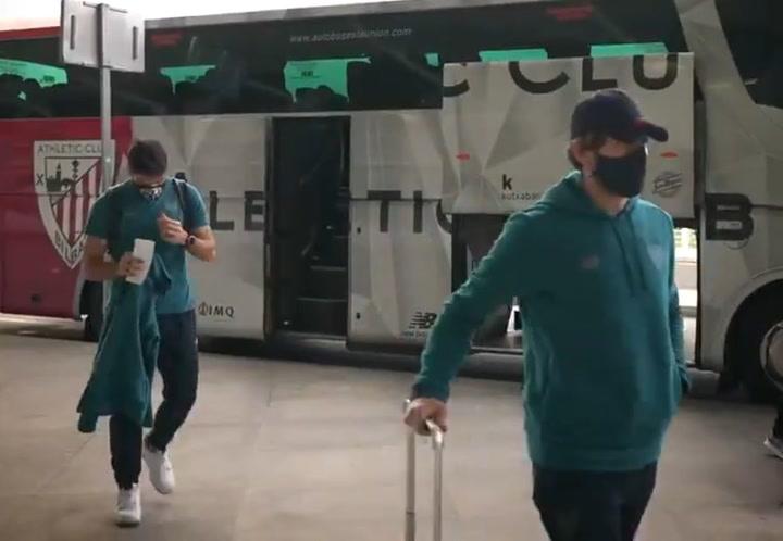 El Athletic ya está en Málaga