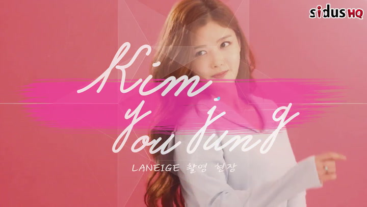 [Pictorial] Behind the scenes of Kim Yoo-jung's Laneige photoshoot