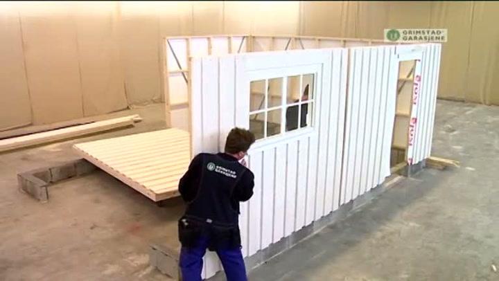 Bygge garasje: Hvordan montere elementer
