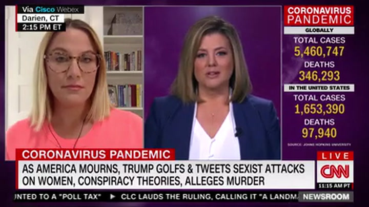 S.E. Cupp: Trump Is 'Not Healthy, He Is Not Well' at the Worst Possible Time for Our Country