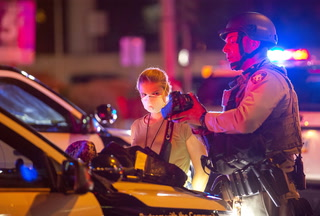 Review-Journal photographer arrested during Las Vegas Strip protest – VIDEO