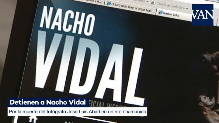 Detienen a Nacho Vidal por la muerte del fotógrafo José Luis Abad en un rito chamánico