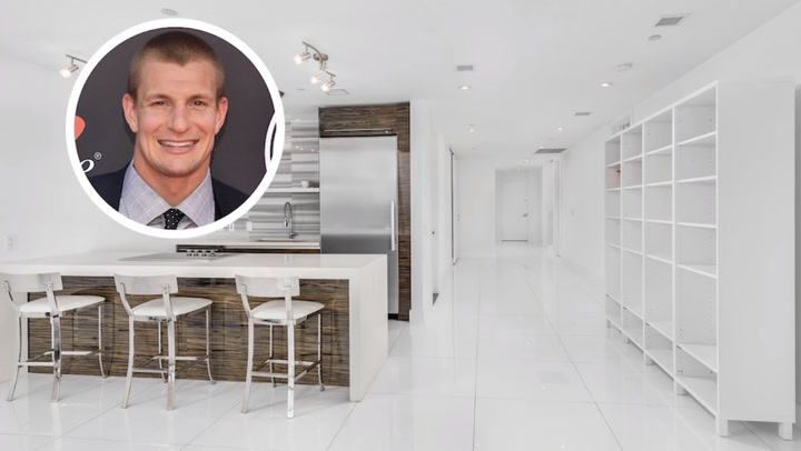 Gronk Goes Long for His New Bachelor Pad—in Miami