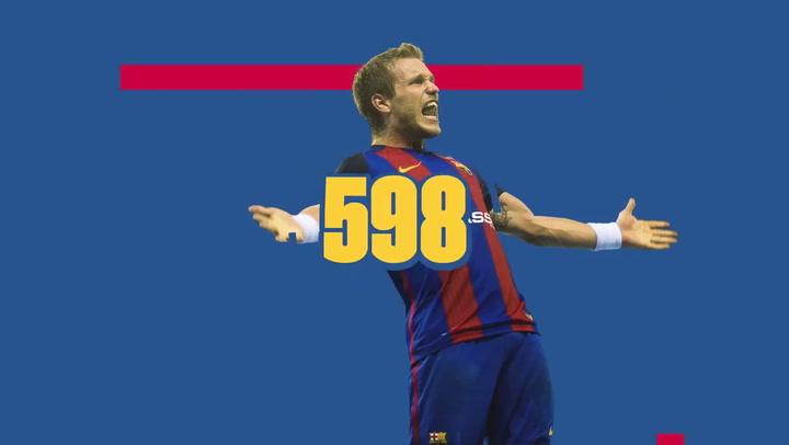 Víctor Tomàs supera los 700 goles en la Champions
