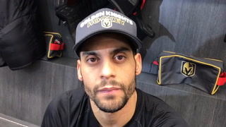 Knights' Bellemare looking forward to facing NHL's top team