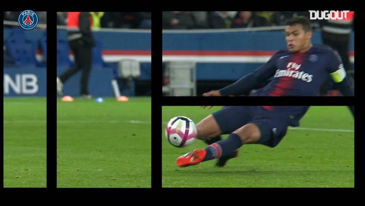 Thiago Silva's glorious career at Paris Saint-Germain