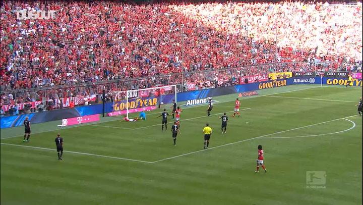 Kimmich scores diving header vs Köln