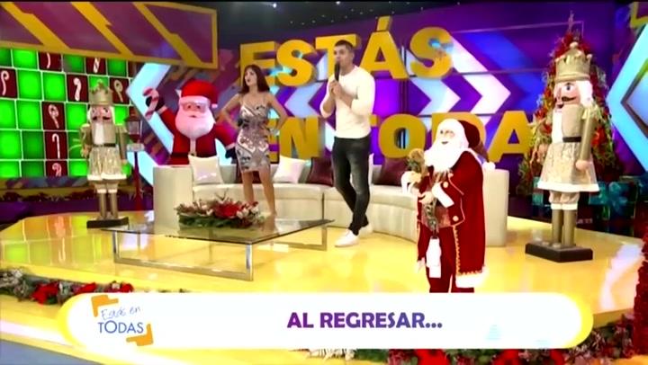 Rosángela Espinoza e Ignacio Baladán se estrenan como conductores de 'Estás en Todas'