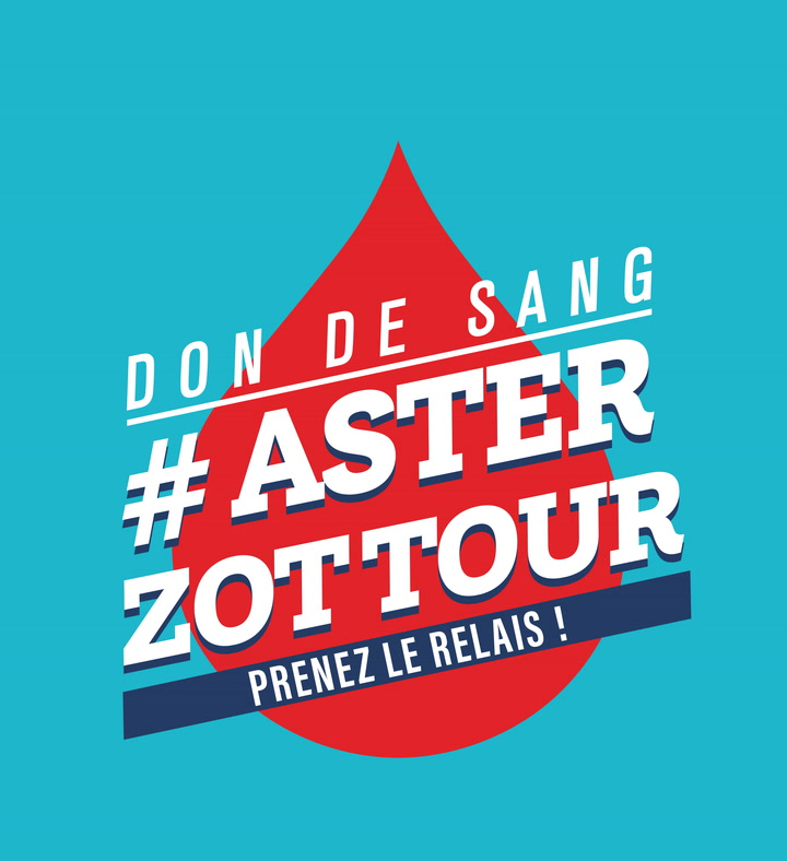 Replay Don de sang - #asterzottour - Mercredi 16 Juin 2021