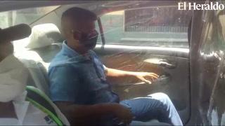 Taxistas en Comayagua se aprestan para volver a sus actividades bajo medidas de bioseguridad