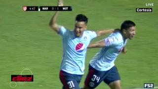 Errorazo de Kervin Arriaga y Motagua le clava el primero a Marathón en la Liga Concacaf