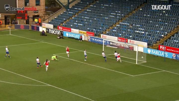 Arsenal Women net three against Reading FC