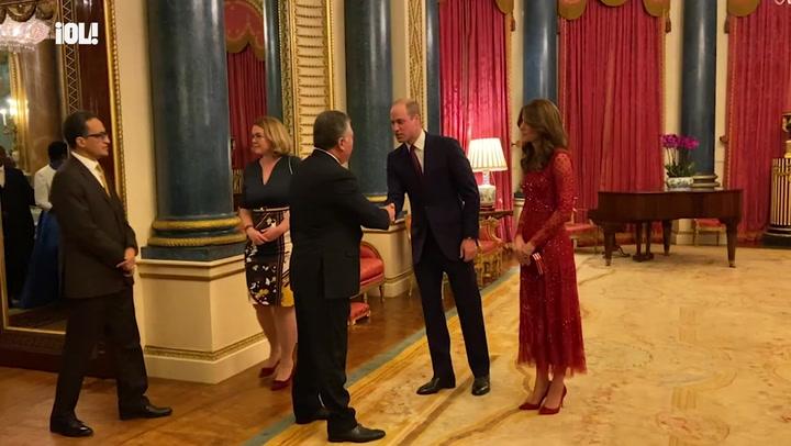 Los duques de Cambridge ejercen de anfitriones tras el histórico discurso del príncipe Harry
