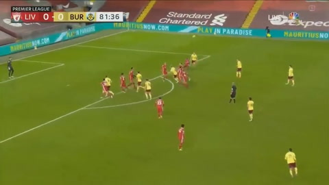 Liverpool 0-1 Burnley (Premier League)