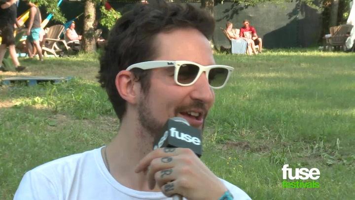 "Frank Turner On ""Tape Deck Heart"" & More At Bonnaroo 2013"